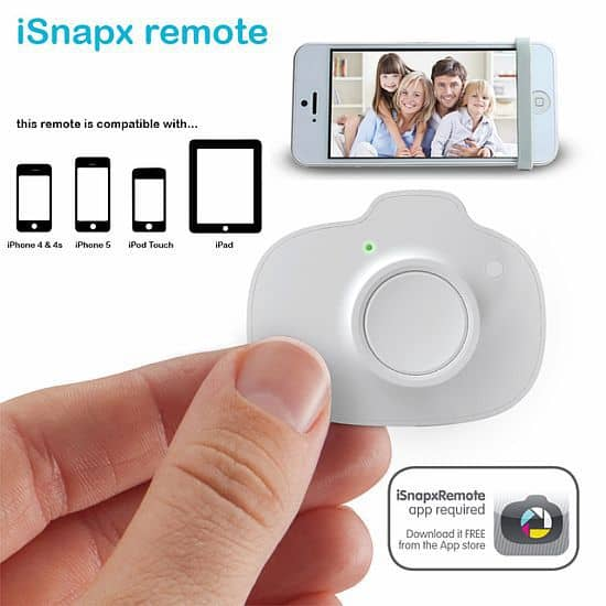 ISNAPX - IPHONE WIRELESS SHUTTER REMOTE CONTROL
