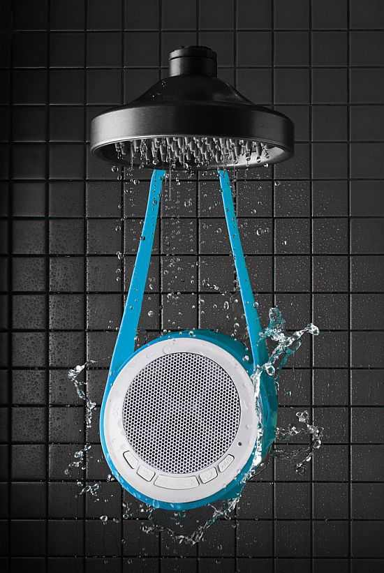 SLINGSHOT RECHARGEABLE WIRELESS, WATER-RESISTANT SPEAKER