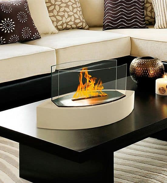 Tabletop fireplace Lexington