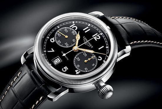 The Longines Avigation Oversize Crown Chronograph