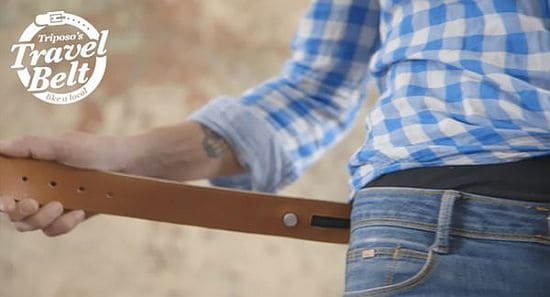 Triposo Travel Belt