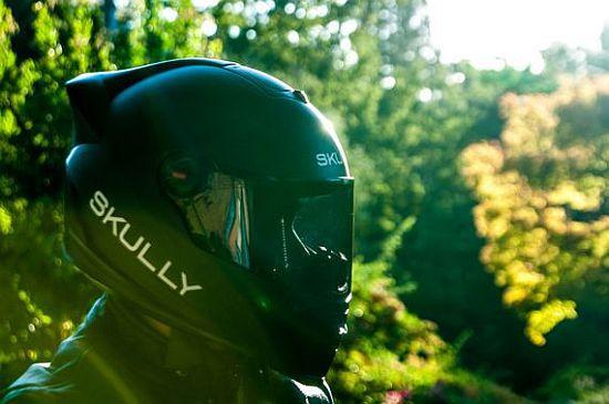 Motorcycle helmet Skully P1
