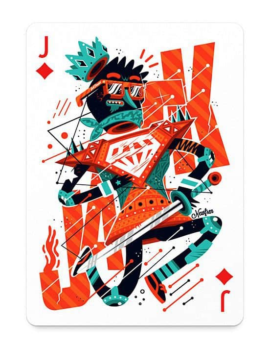 Playing Arts Inspiring Deck of Cards by Artists