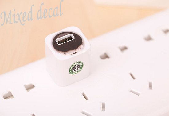 Apple 5W USB Power Adaptor decal