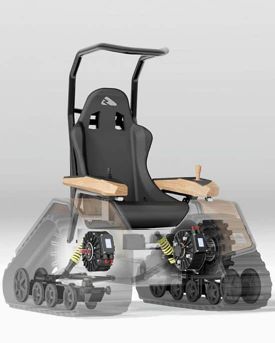 Der Ziesel Offroad Driving Machine