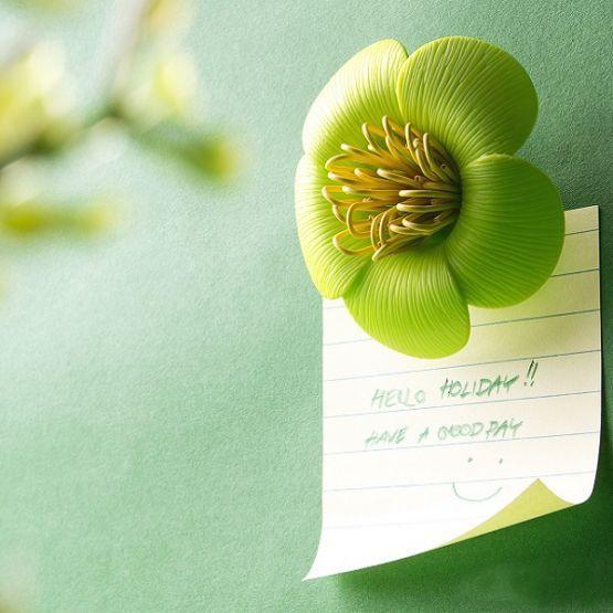 Blossom Paper Clip Holder
