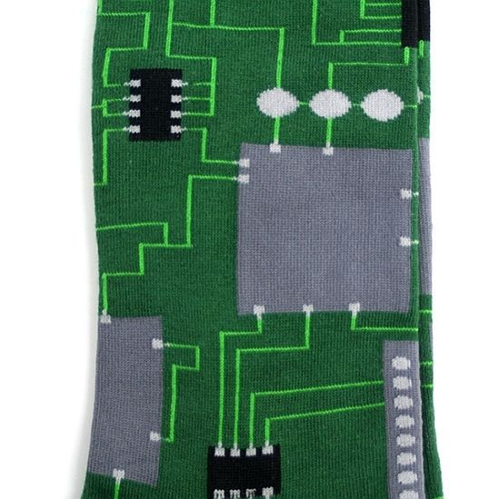 Circuit Board - Men's Socks