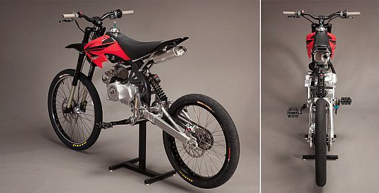 MOTOPED DIY MOTORIZED BIKE KIT