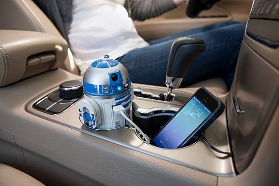 R2D2 USB Car Charger
