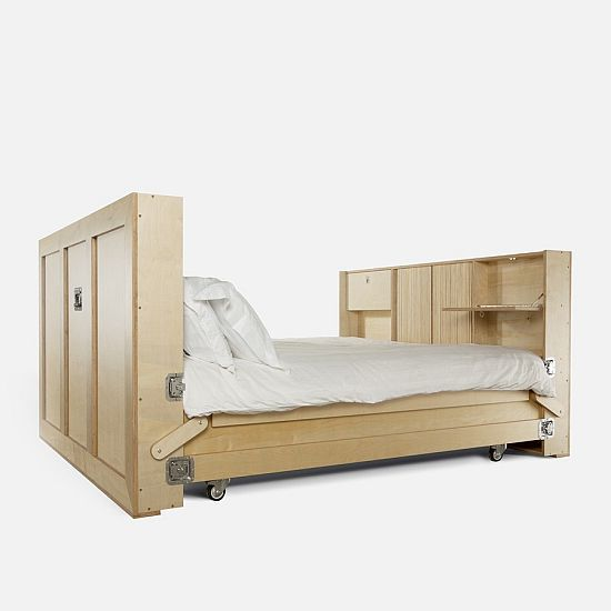 Double Bed by Naihan Li