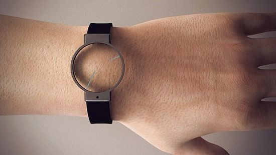 Minimal Transparent Watch