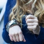 Silver Flask Bangle by Cynthia Rowley