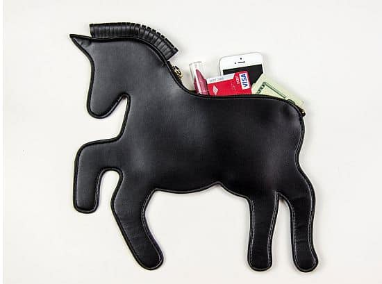 Unicorn Horse Clutch