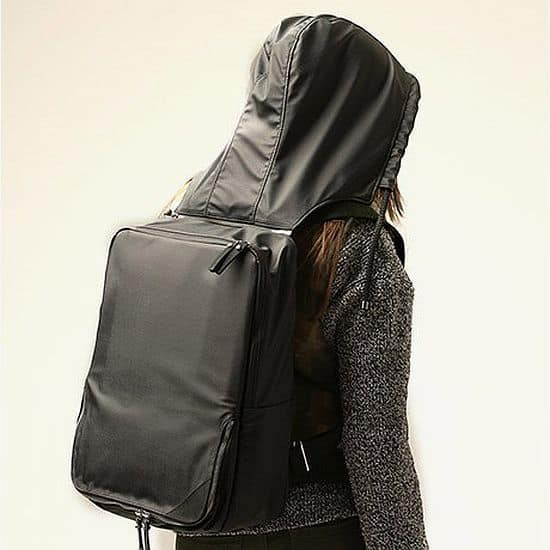 Hooded Backpack