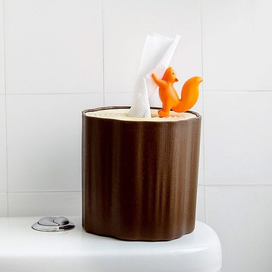 Squirrel Tissue Holder