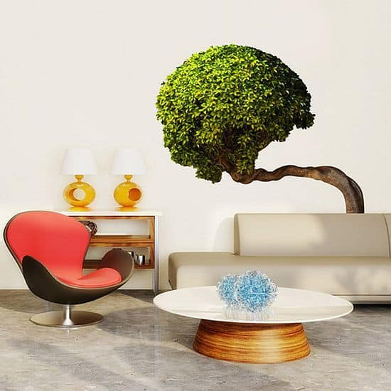 Bowing Tree Wall Decal by WallNeedLove