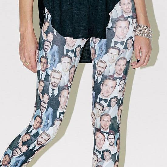 Dapper Ryan Gosling Leggings by Clashist