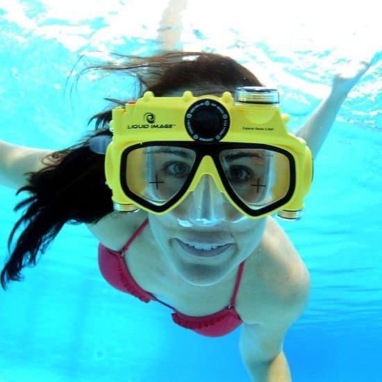 Digital Camera Swim Mask