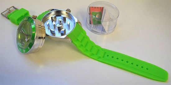 Herb Grinder Wrist Watch