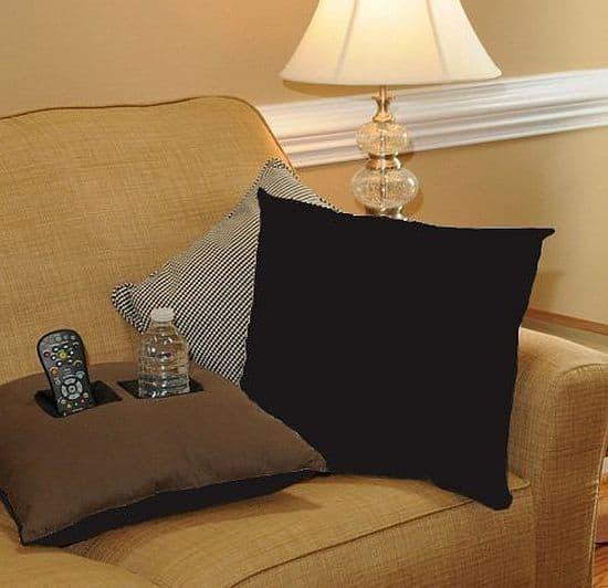 Drink Holder Pillow