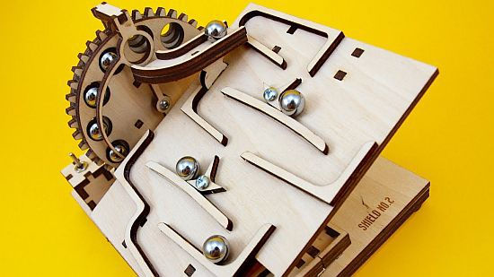 MODULAR MARBLE MACHINE KIT M3