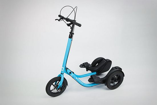 Me-Mover- Human Powered Step Driven Scooter