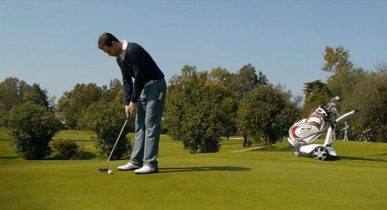 X9 Follow Golf Trolley
