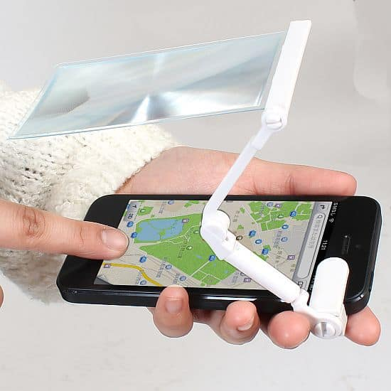 iPhone5-compliant Magnifier