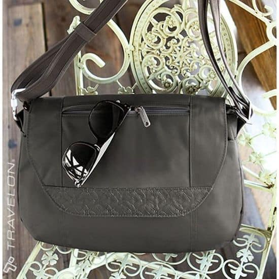 Anti-Theft Signature Cross-Body Bag