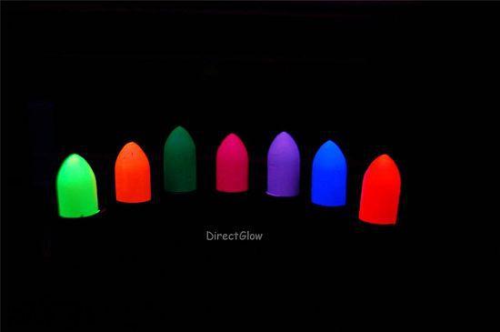Fluorescent Black Light Lipstick
