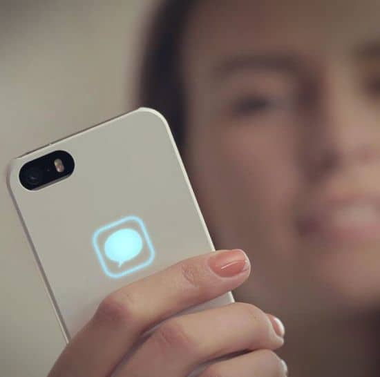 Lunecase - iPhone Case With Notifications