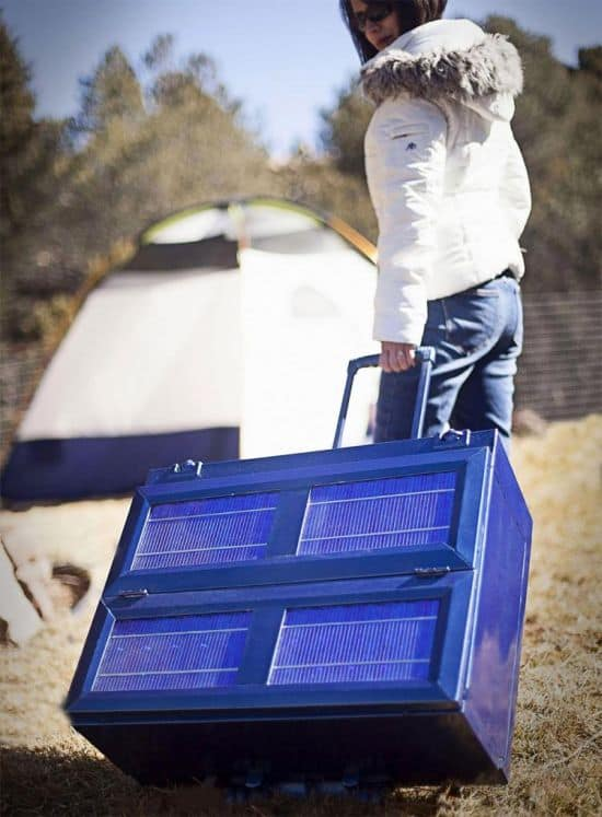 Anywhere Fridge - Collapsible Solar Powered Refrigerator