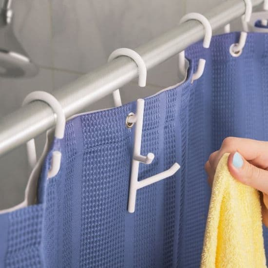 Branch Shower Rings with Hooks