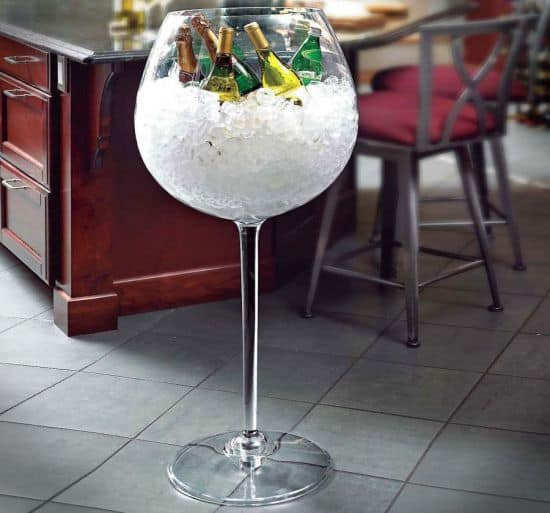 Giant Wine Glass Ice Bucket