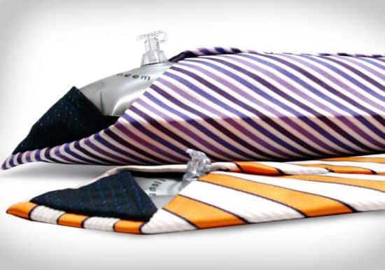 Pillow Tie - An Inflatable Necktie For Naps At Work