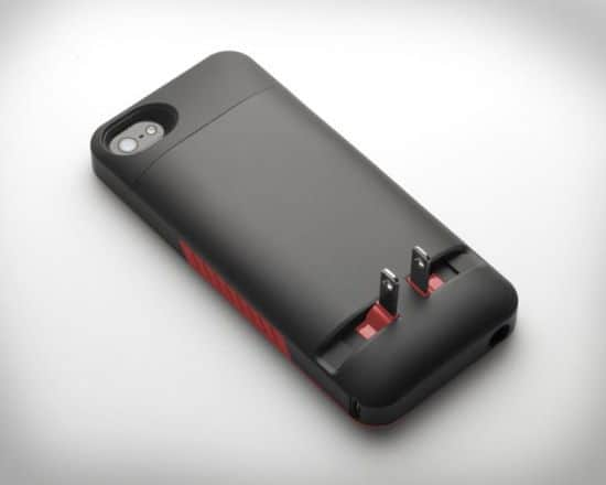 PocketPlug iPhone Case With Wall Plug