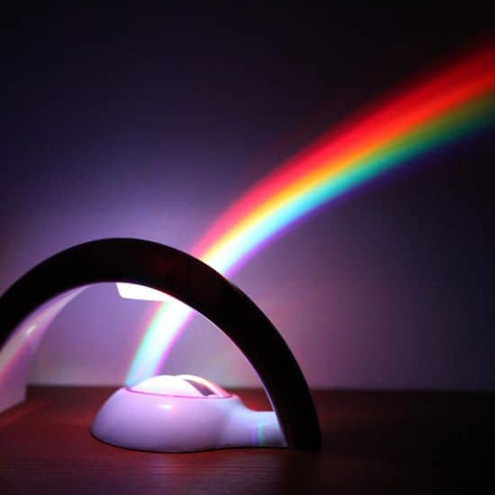 Rainbow In My Room Nightlight