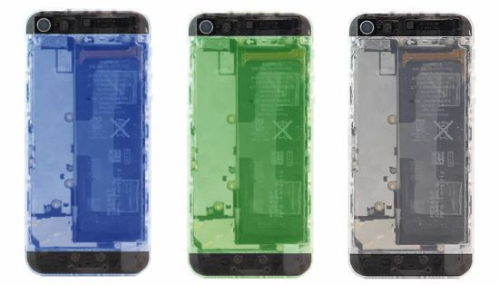 Translucent iPhone 5 Mod Kit