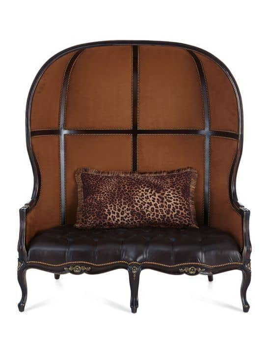 Ashford Balloon Settee by Massoud