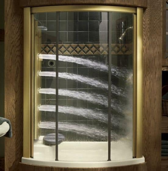Bodyspa Shower Alcove by Kohler