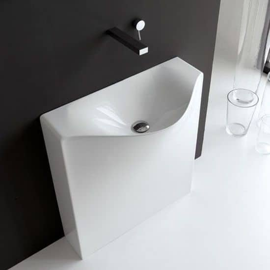 One Shot Wall Washbasin