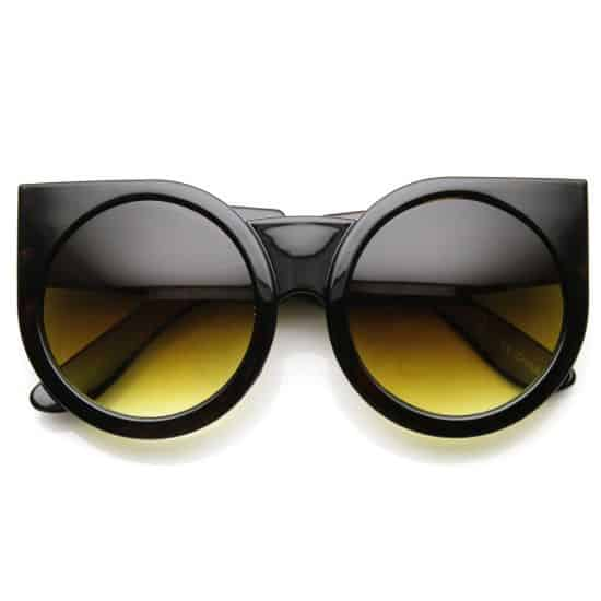 Round Cat Eye Sunglasses by zeroUV