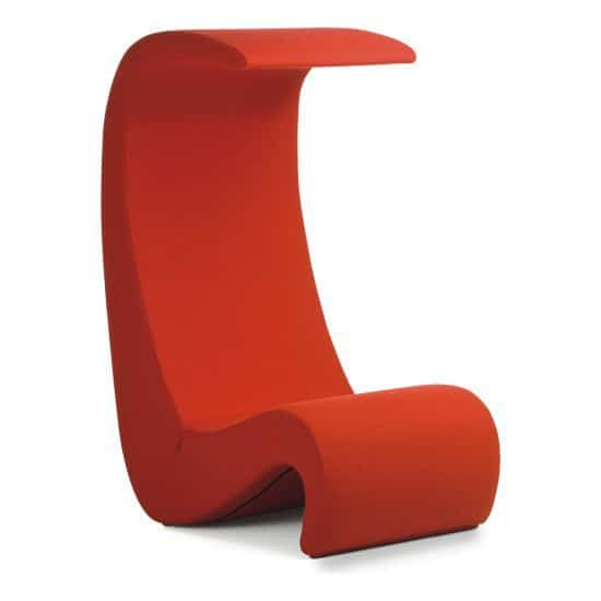 Amoebe Highback Chair by Verner Panton
