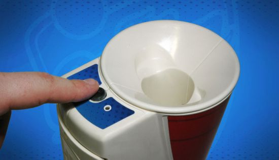 Beer Pong Ball Cleaner