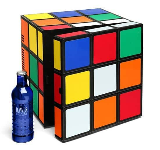 Rubik's Cube Mini-Fridge
