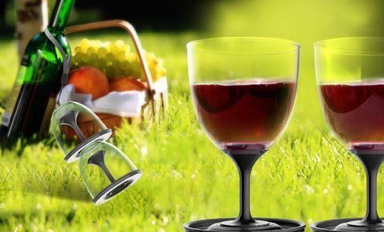 Stack N Go Wine Glasses