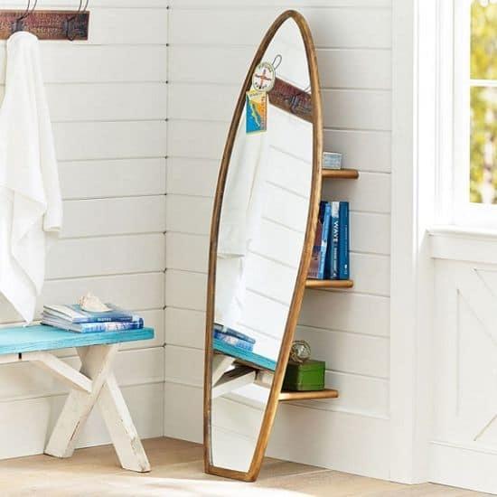 Surfboard Storage Mirror
