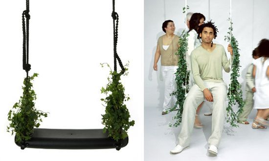 Swing with the Plants by Droog
