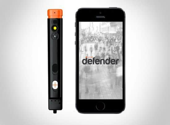 The Defender pepper spray