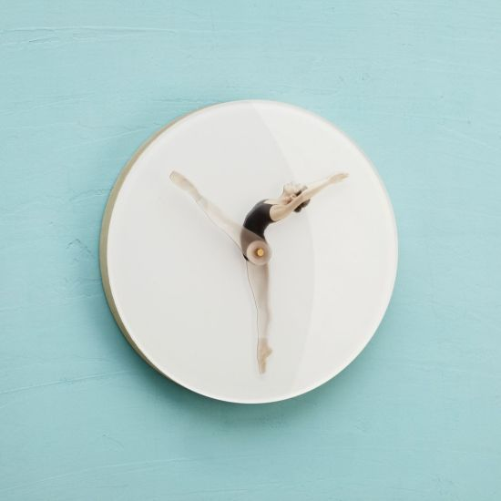 Time Is Dancing Wall Clock